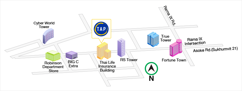 Map - Head Office