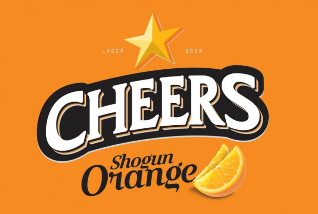 Let's welcome summer together with different yet innovative  CHEERS Selection Shogun Orange