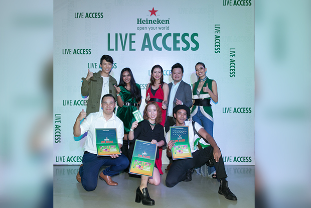 """""""Heineken Live Access"""" campaign offering a world-class journey beyond music"""