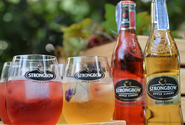 "Strongbow, No.1 World Leading Apple Cider from the UK, Brings Refreshing Natural Taste  under the Theme ""A Fresh Remix of Nature"""