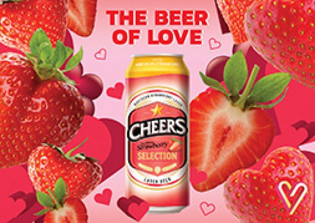 "Cheers launches ""Cheers Selection Northern Strawberry"""