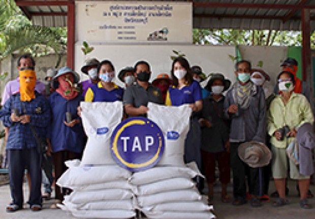 "TAP Group Continues Its Brewing a Better World Ambition in Growing with Community Through the Launch of ""Grow Plant Grow Community"" Project by Handing Out Fertilizers and Trees To Increase Oxygen, Reduce Temperature Around the House and Create Green Areas"