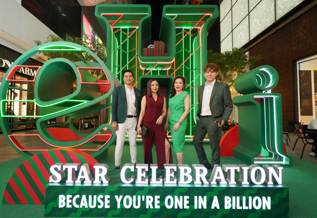 """Heineken® Star Celebration 2020"" an Iconic and Unique Hangout Space Lighting Up Your Festive Spirits under the Concept of Because You're One in a Billion"